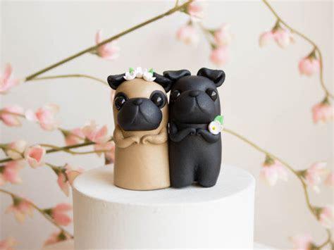 Pug Wedding Cakes : pug wedding