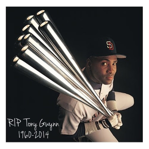 justcarrington:<br /><br />#RIPTonyGwynn #SanDiego #Legends #MLB #HOF #TonyGwynn #BatMan<br />