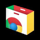 English: Chrome Web Store icon
