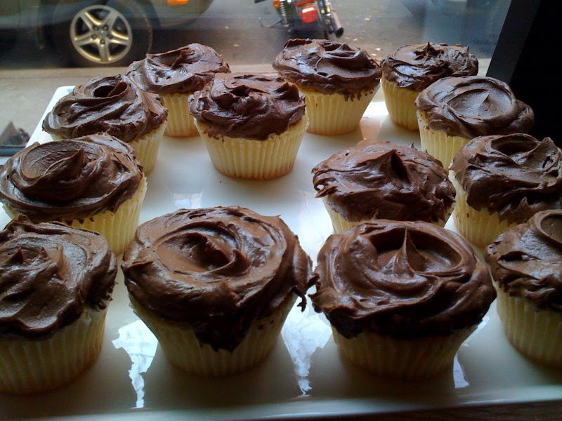 Butter Lane chocolate cupcakes