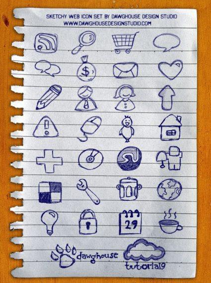 Sketchy  Web Icon