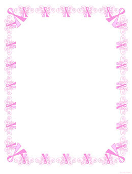Free Printable Digital Scrapbook Pages Breast Cancerawareness