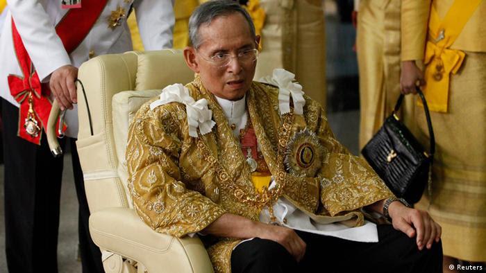 König Bhumibol Adulyadej. (Foto: Reuters).