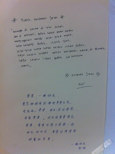 Letter to grandma by Ani