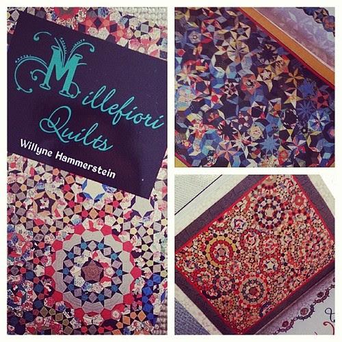 Eeeee! It's come! Next year's #quilt show project, eh? #millefioriquilts