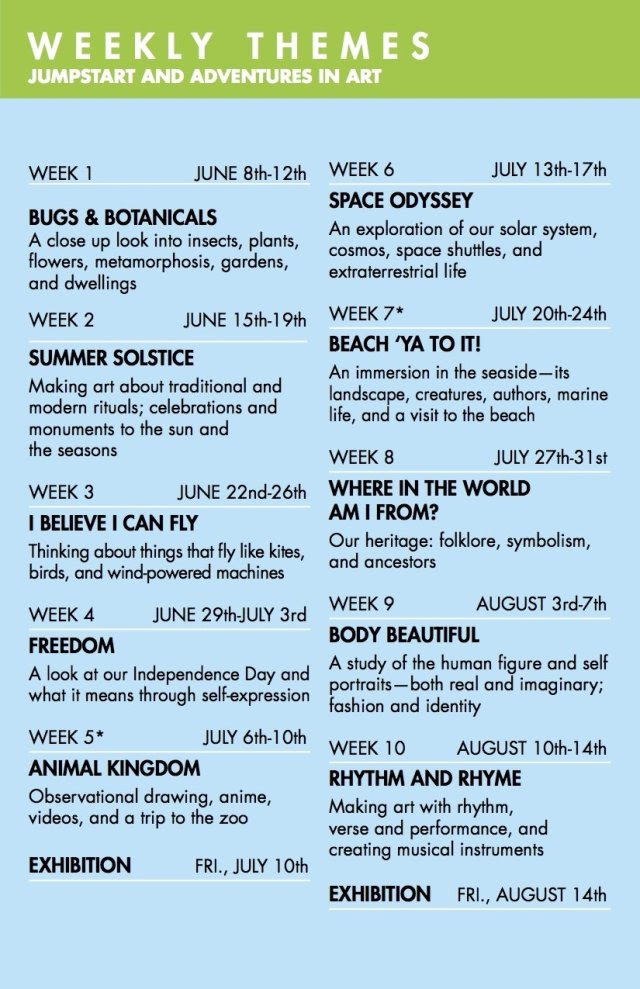 Weekly Themes For Summer Camp Find Your Dream