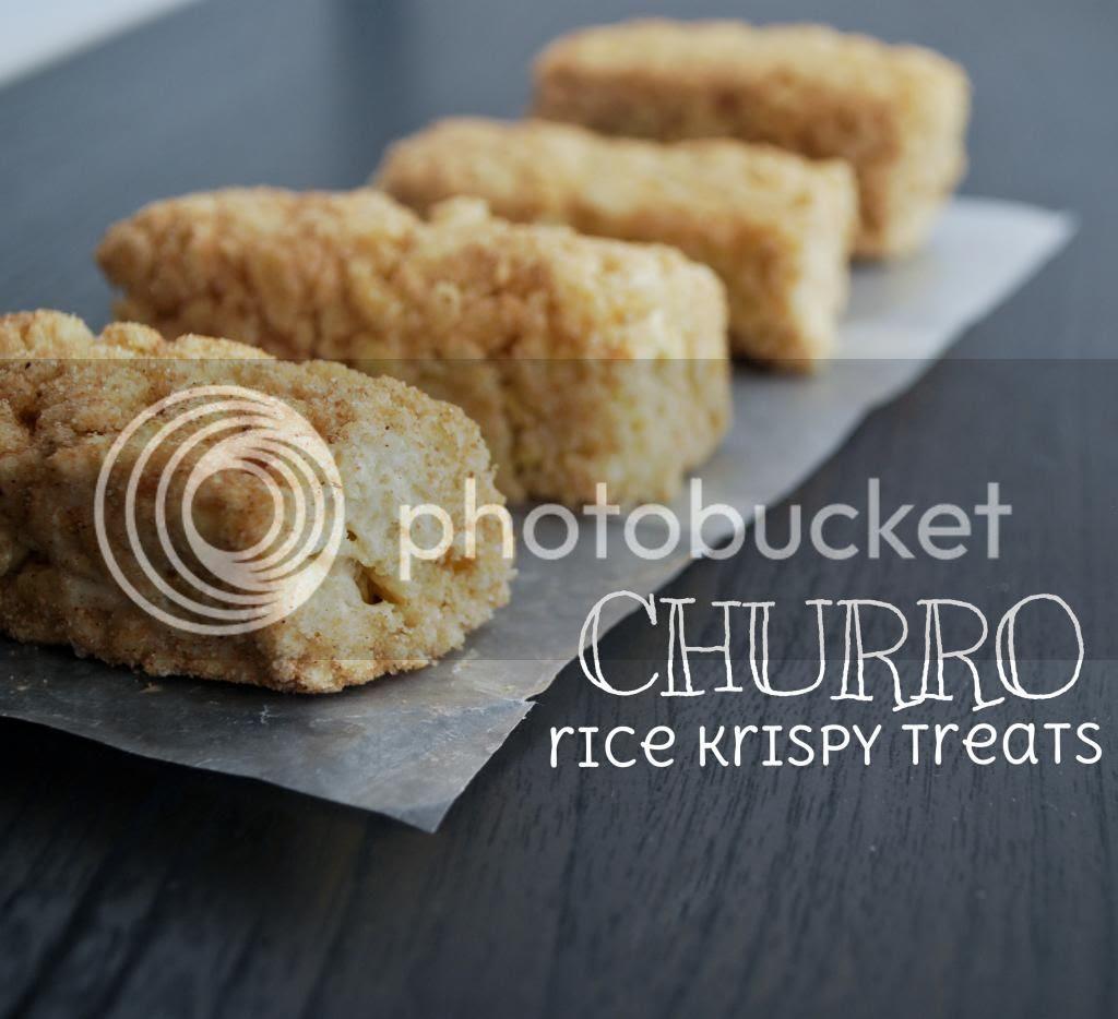 Churro Rice Krispy Treats