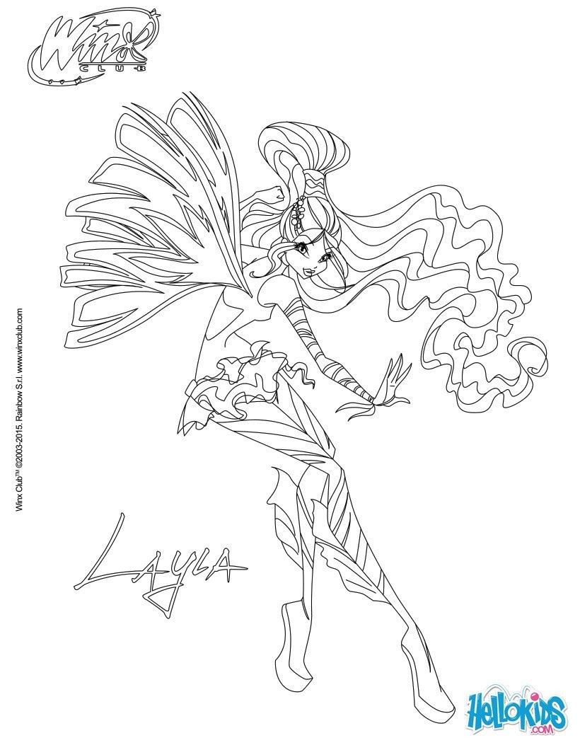 Musa en robe Layla transformation Sirenix