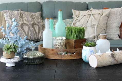 coffee table decorating ideas  match  style