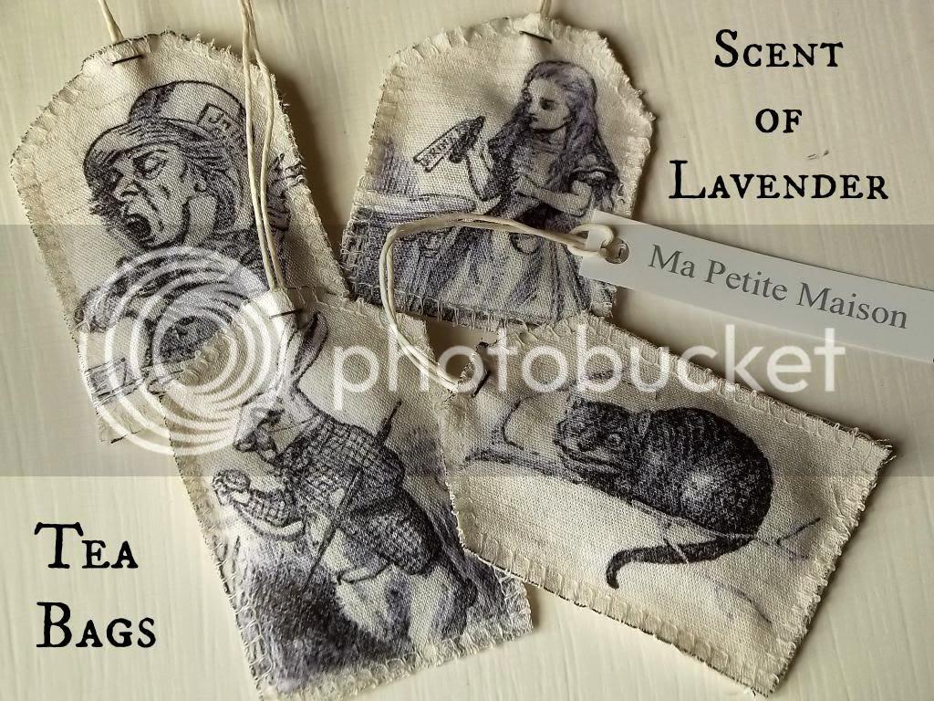 Bomboniere con illustrazioni di Alice nel Paese delle Meraviglie by Ma Petite Maison