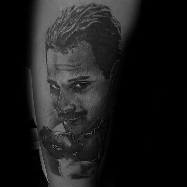 40 Freddie Mercury Tattoo Designs For Men - Queen Ink Ideas