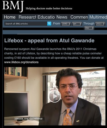 Lifebox - appeal from Atul Gawande | BMJ by stevegarfield