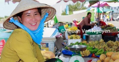 Vietnam || Duyen Hai Rural Market || Tra Vinh Province