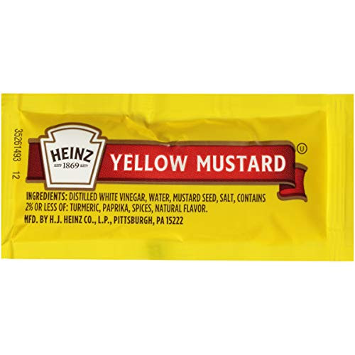 Heinz Mayonnaise Single Serve 0.4 oz Packets, Pack of 200 ...