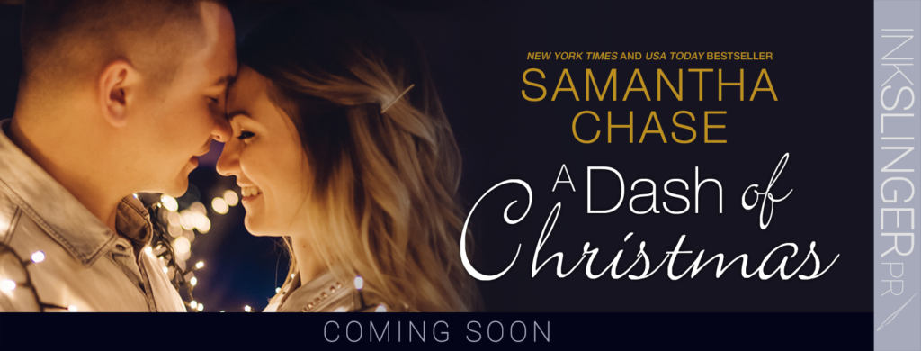 Cover Reveal: A Dash of Christmas by Samantha Chase
