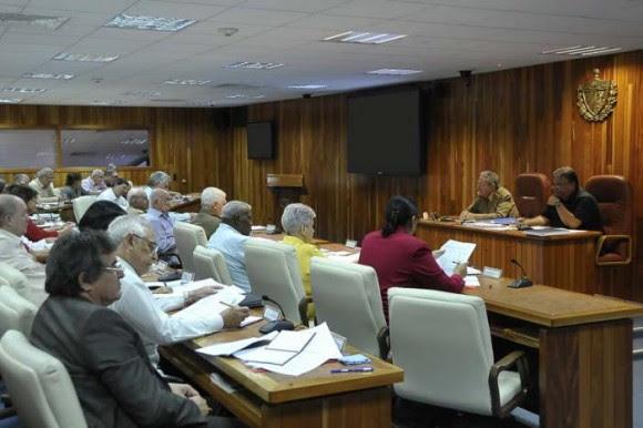 Consejo de Ministros. Foto Estudio Revolución