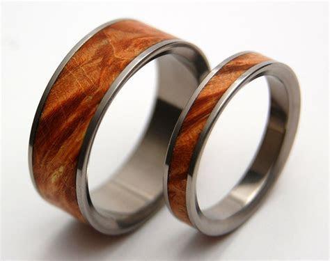 Wood Wedding Bands   Etsy Eye Candy