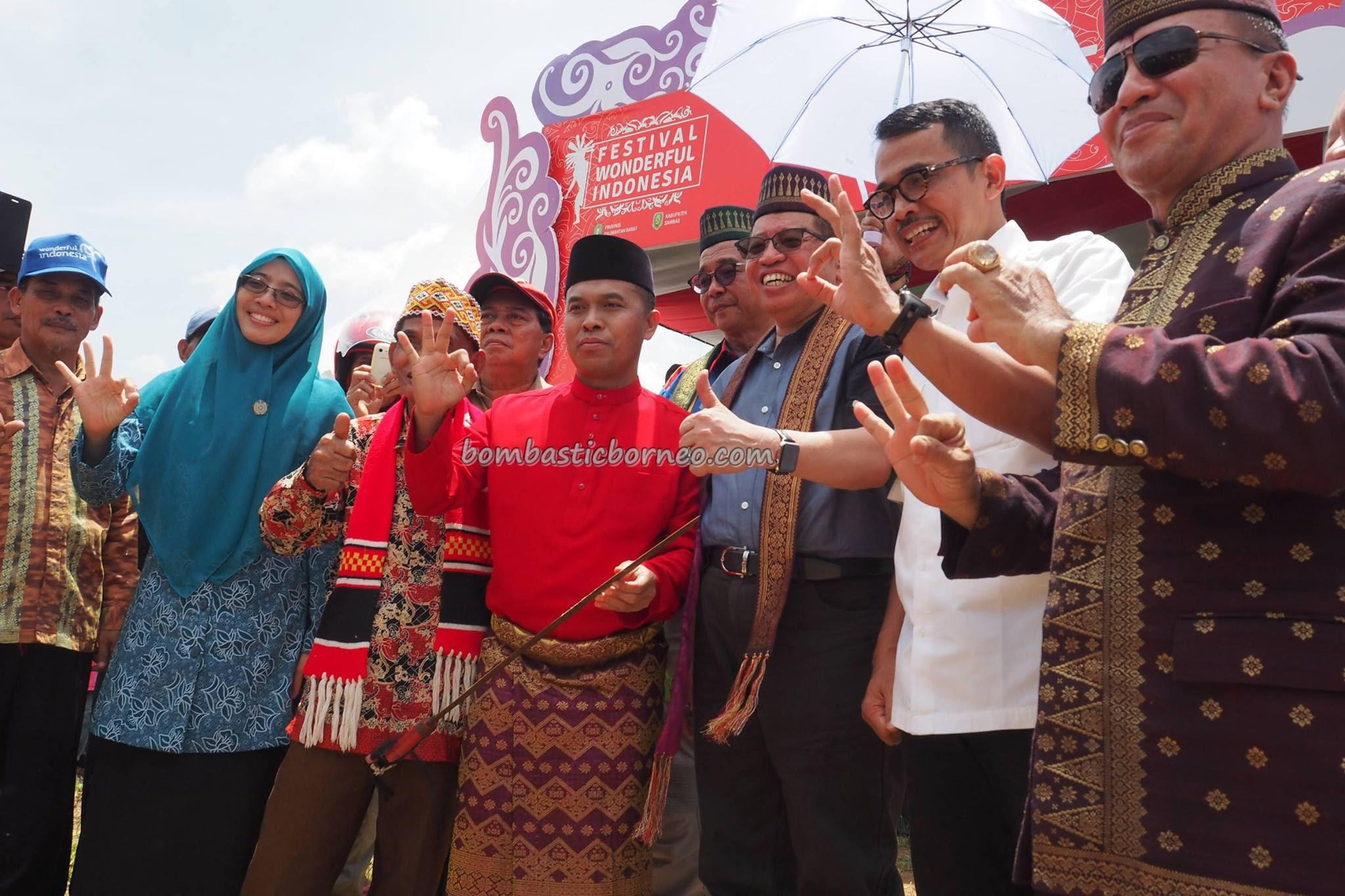 Festival Wonderful Indonesia, Aruk West Kalimantan Barat  BOMBASTIC BORNEO