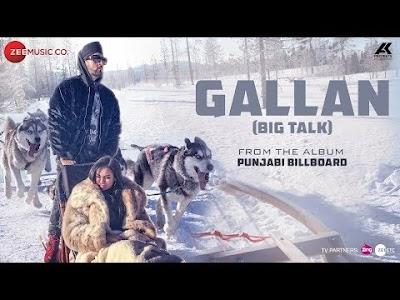 GALLAN LYRICS – Manj Musik   Album: Punjabi Billboard