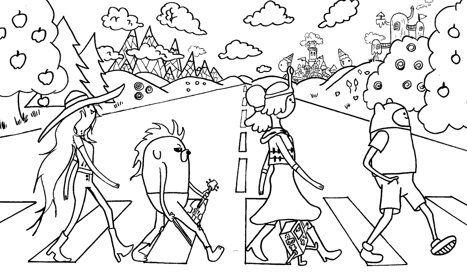 kids_coloring_pages_adventure time