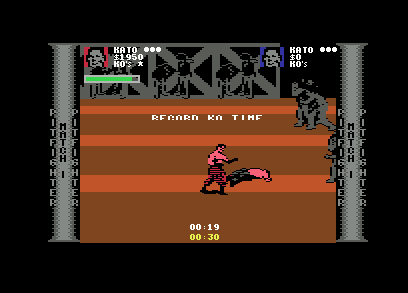 Pit-fighter Commodore 64