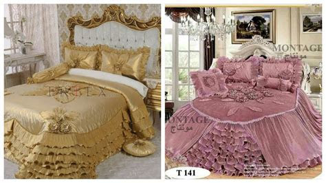 Bed Sheets Design.Bridal Bed Sheets ideas   YouTube