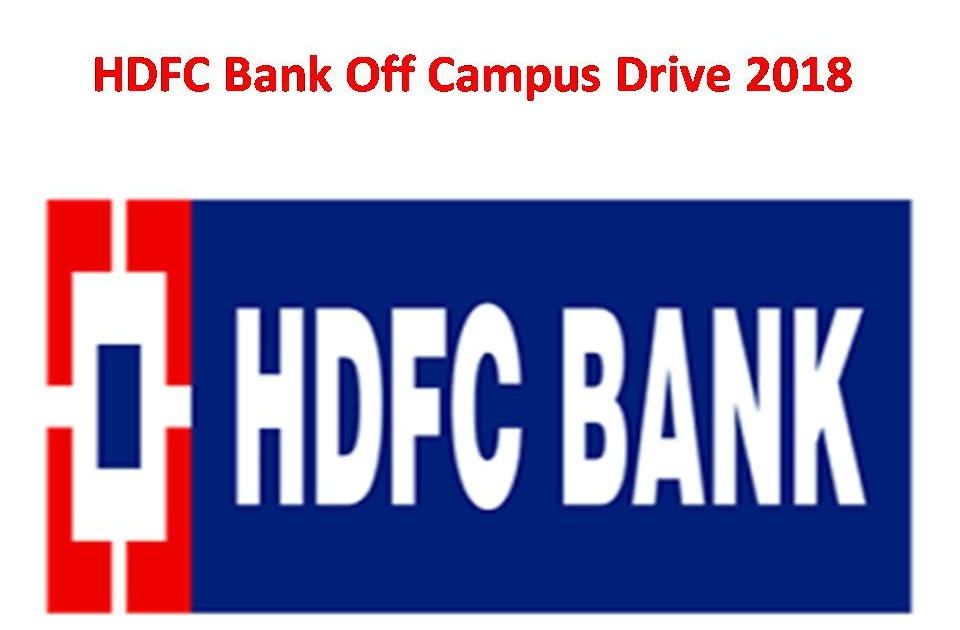 vacancies in hdfc bank for freshers
