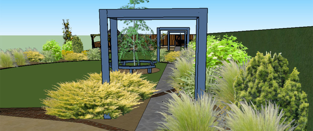Hertfordshire Arts Crafts Home Green Edge Garden Design