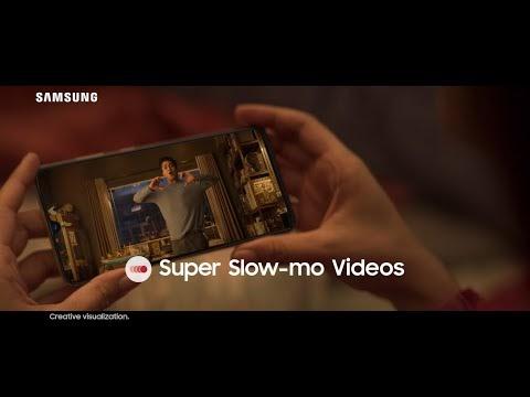 Samsung Galaxy A70 : For Super Slow-mo Videos