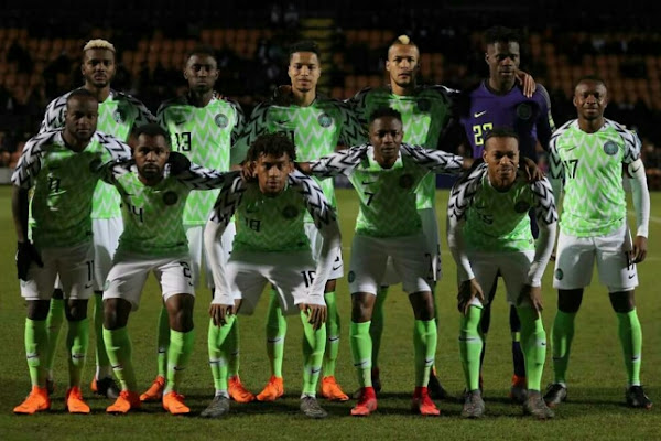 ebcaa0e72 BREAKING  Russia 2018  Nigeria Super Eagles name final World Cup squad