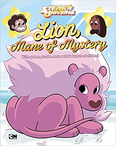 """I guess there's a new SU book coming!    """"Packed with games, puzzles, and four colorful sheets of stickers, this Steven Universe activity book is filled with surprises—just like Lion!""""    I know some of you guys like stickers, and such. XD Pre-orders are open, and it's coming out  September 26, 2017."""