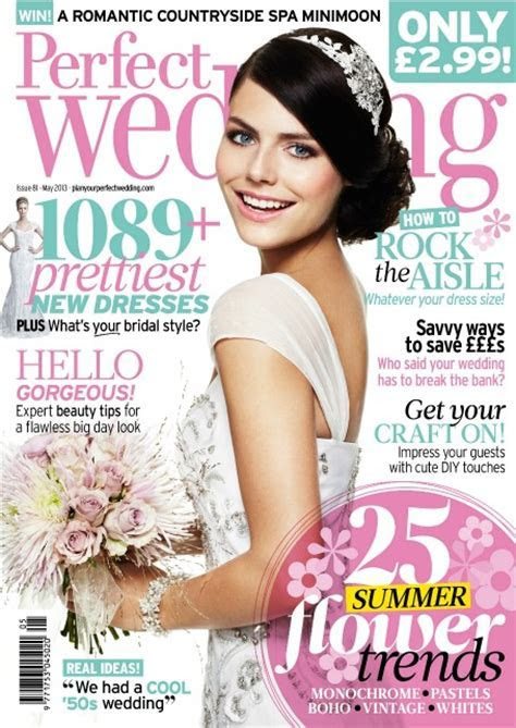 Top 5 Wedding Magazines You Should Subscribe To
