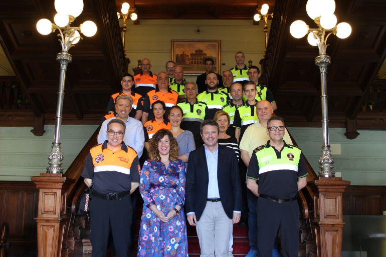 Acto de reconocimiento y felicitación a la Policía Local y a Protección Civil