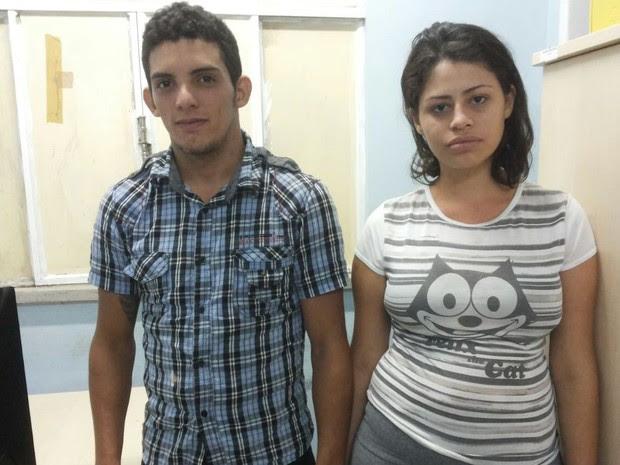 Aylton e Alice já haviam sido presos em 2014 após cometerem pelo menos sete assaltos em único dia (Foto: Nonato Sousa/Arquivo pessoal)