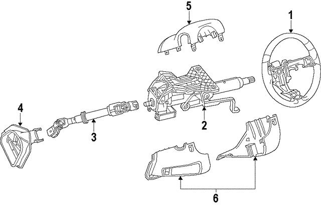Cadillac Srx Parts Diagram