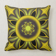Modern pillow with optical effect throwpillow