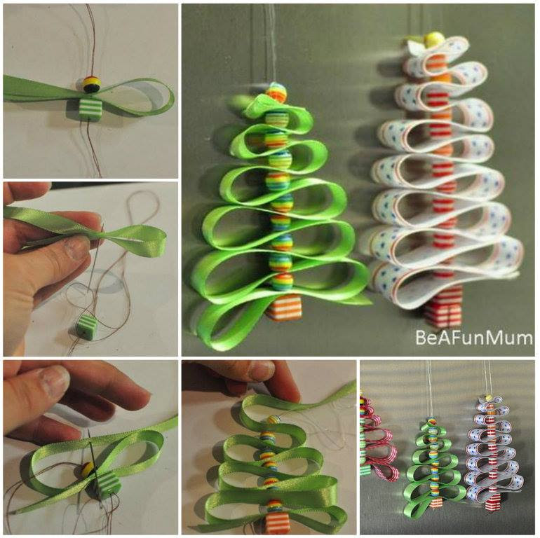 Ribbonbeads ChristmasTreeDecorations DIY f