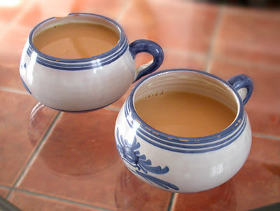 Tranquilidad en taza grande