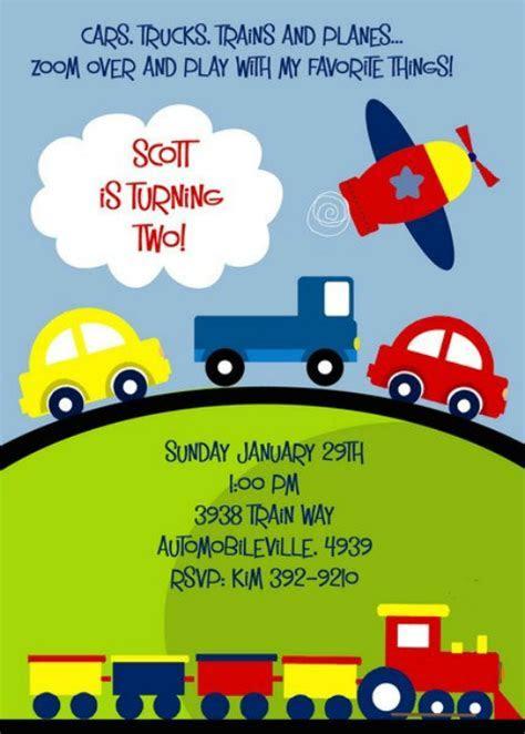 Kids Ideas Vehicle Theme ? FREE Printable Birthday