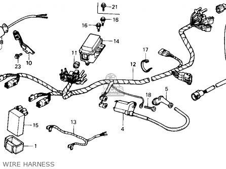 1990 Honda 300 Wiring Diagram Box Wiring Diagram