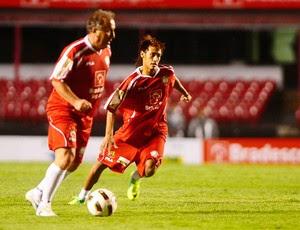 Jogo das Estrelas - Zico e Neymar (Foto: Marcos Ribolli/Globoesporte.com)