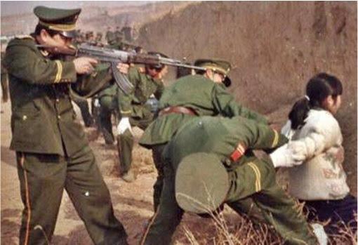 China Firing Squad Prosecution