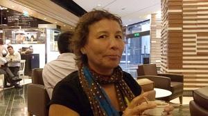 Profesora peruana en Hong Kong