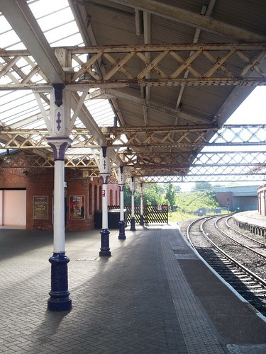 Columns by Andrew Handyside and Company of Derby and London- Hartlepool Railway Station