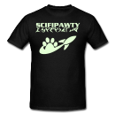 scifipawty tee shirt