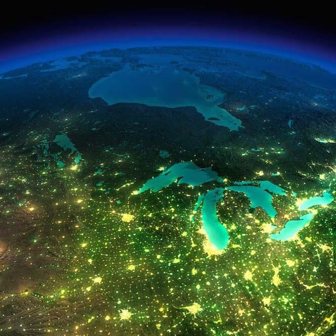 Εκπληκτικές νυχτερινές εικόνες της Γης (13)