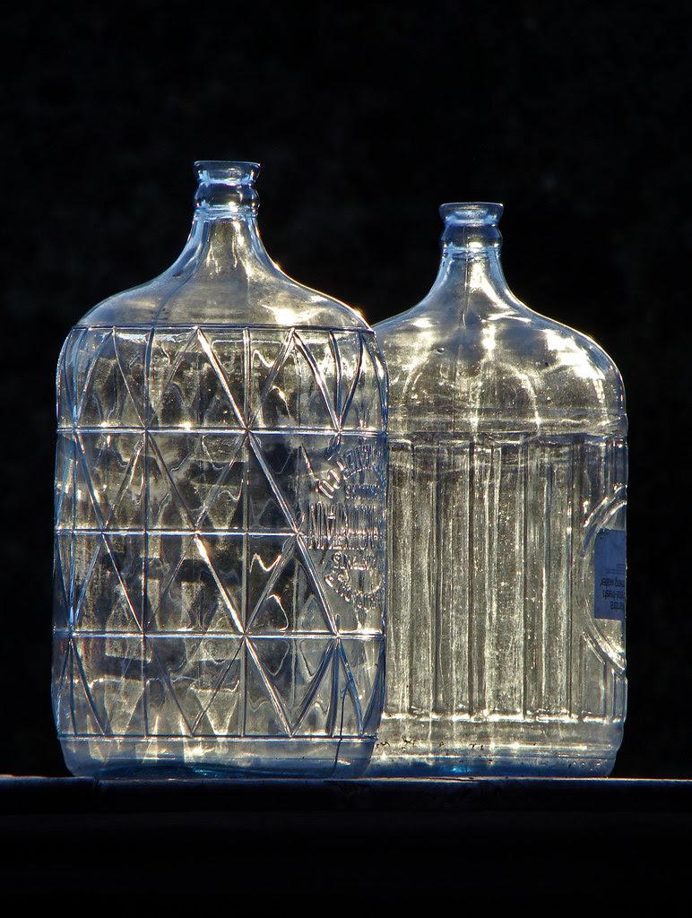 DSC02681 two sunlit bottles