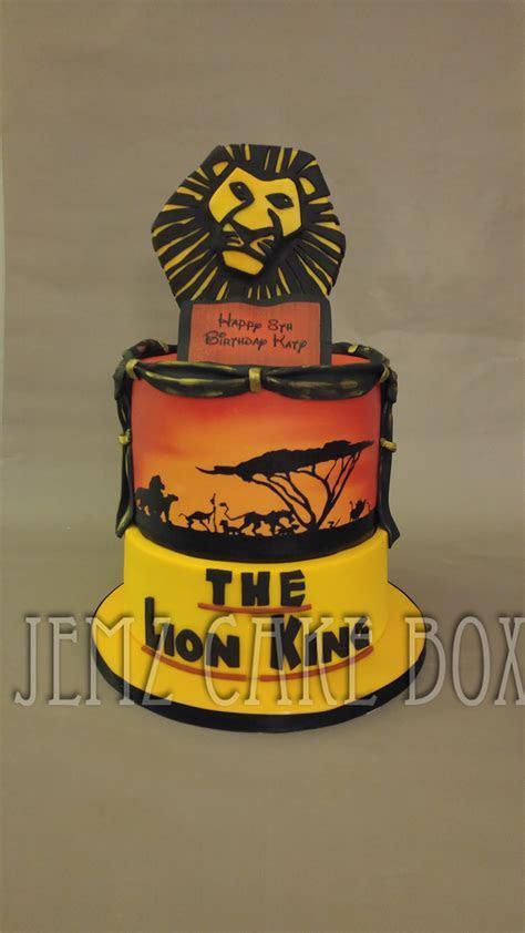 The Lion King Celebration Cake   Jemz Cake Box