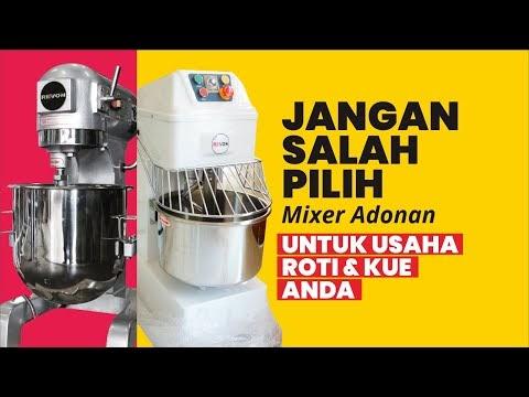 Jual Mixer Spiral Untuk Adonan Roti Kalis di Yogyakarta Garansi 1 Tahun oleh - anekakueonline.online