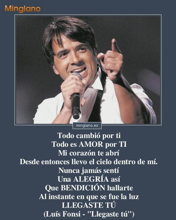 Frases De Canciones De Amor De Luis Fonsi